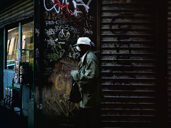 Paul Graham Blinded Man New York 1998