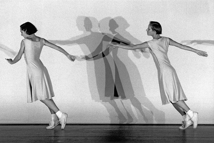Performance of Anne Teresa De Keersmaeker's Fase, Four Movements to the Music of Steve Reich, 1982