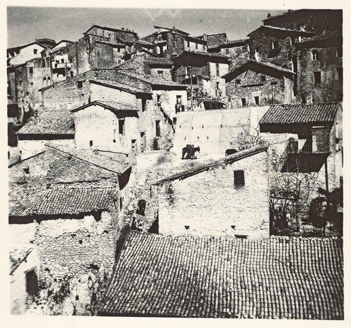 Photograph by Peter Lanyon of Anticoli Corrado 1953