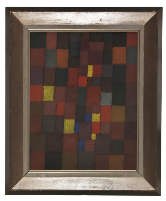 Pictorial Architecture Red, Yellow, Blue, Paul Klee, 1923