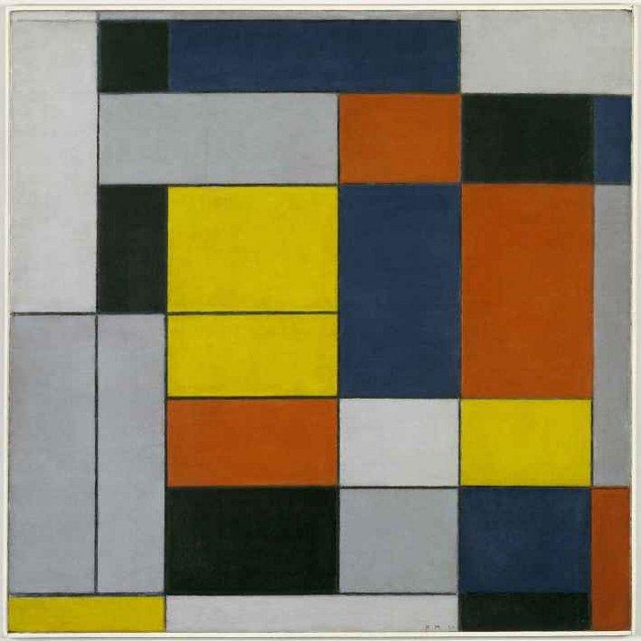 Piet Mondrian, No. VI/Composition No. II 1920