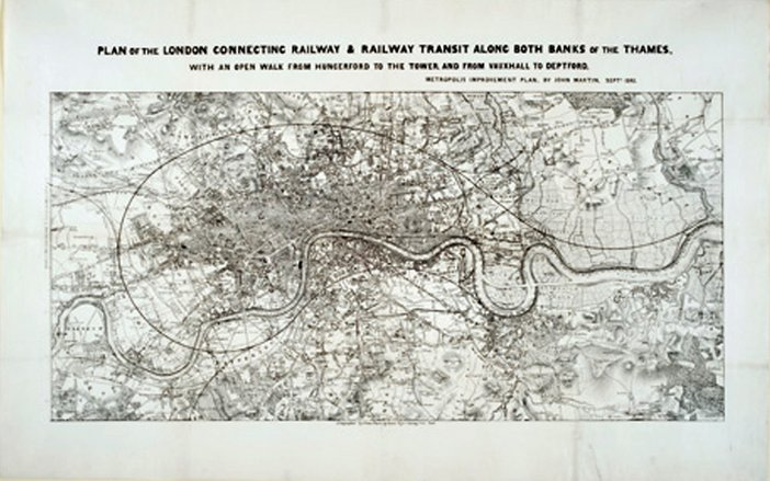 Plan of the London Connecting Railway... 1845