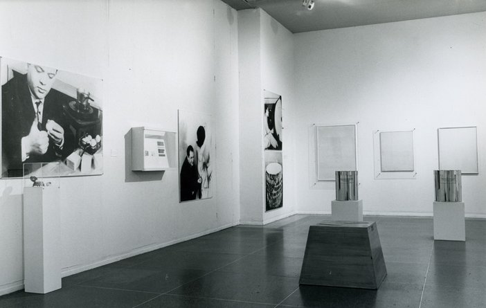 Installaton view of Two European Artists 1974