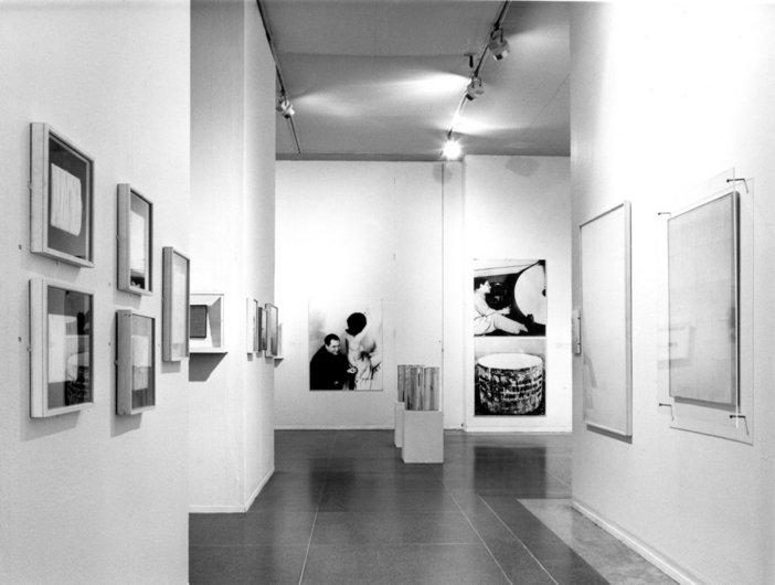 Installaton view of Two European Artists 1974