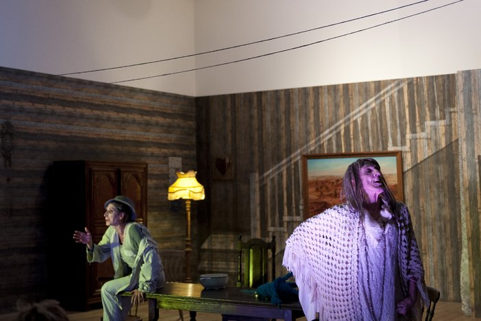 Paulina Olowska, The Mother: An Unsavoury Play in Two Acts and an Epilogue 2014