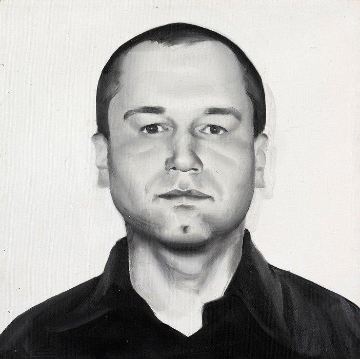Rafal Bujnowski Visa Portrait 2004 portrait of a man