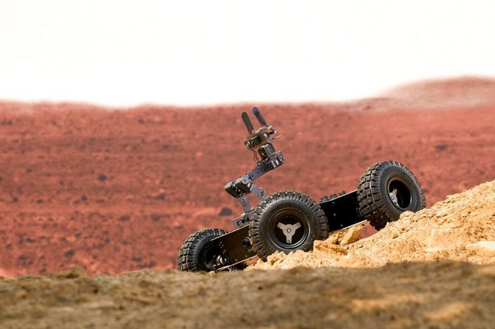 RAL Space rover prototype