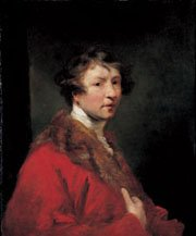 Joshua Reynolds Self Portrait about 1756