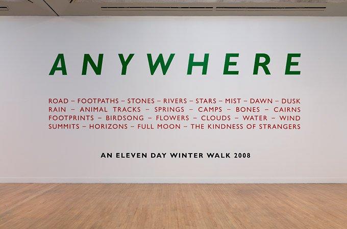 Richard Long An Eleven Day Winter Walk 2008