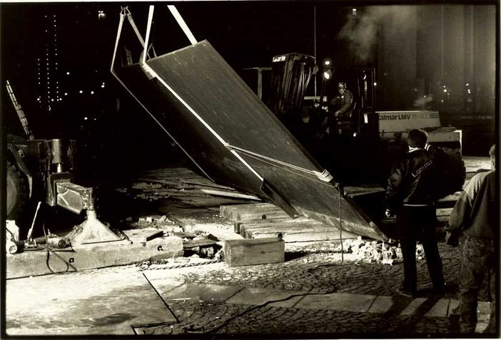 Lost Art: Richard Serra - removing Tilted Arc