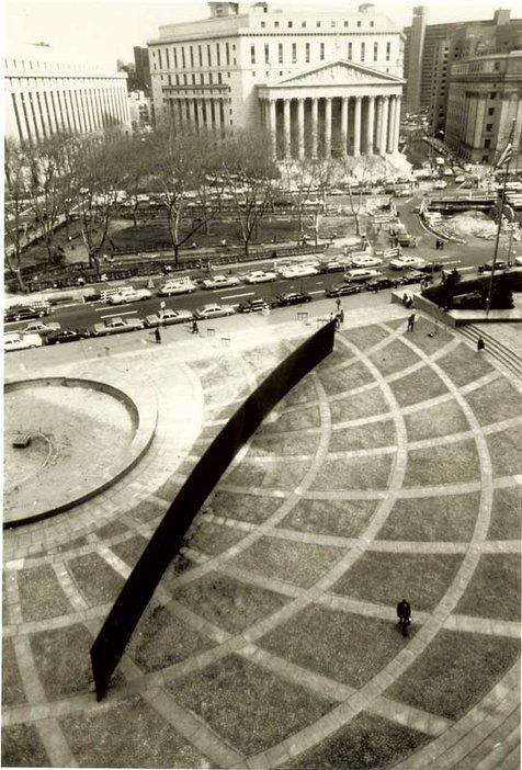 Lost Art: Richard Serra - Tilted Arc 1981