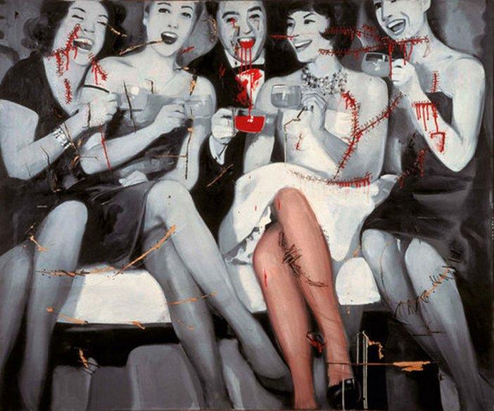Gerhard Richter Party 1963