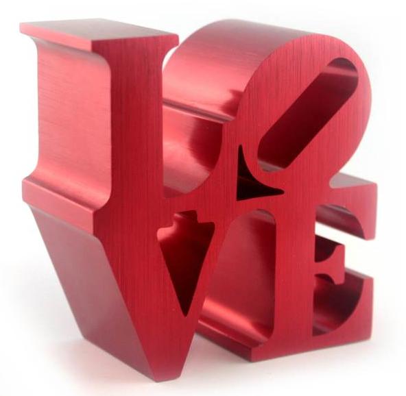 Robert Indiana LOVE Replica (Red)