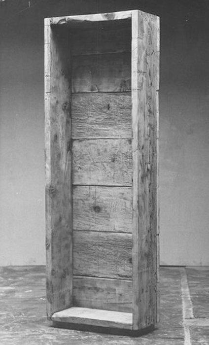 Robert Morris Box for Standing 1961