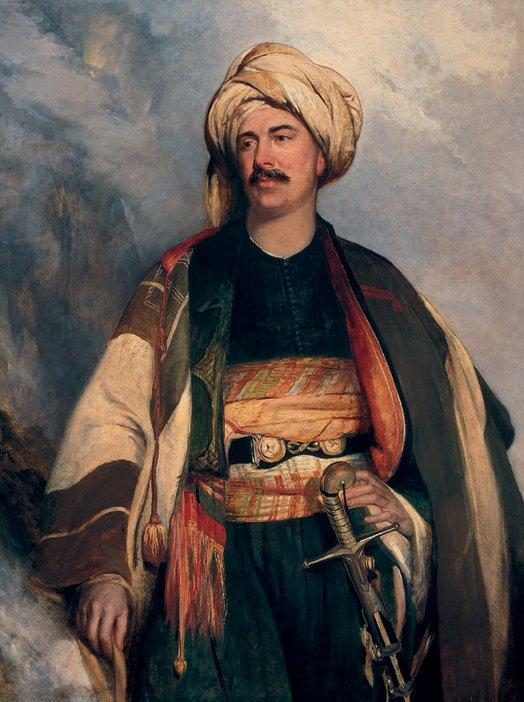Robert Scott Lauder David Roberts, 1796–1864. Artist (In Arab dress) 1840