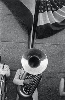 Robert Frank Political Rally Chicago 1956