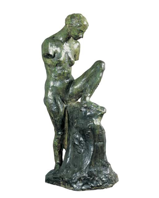 Auguste Rodin Study for 'La Muse Nue, bras coupes' 1905-1906 Bronze