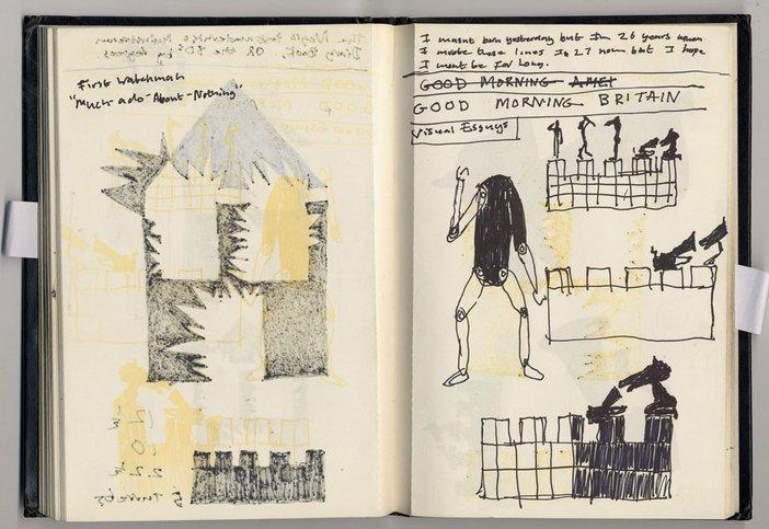Donald Rodney's sketchbook