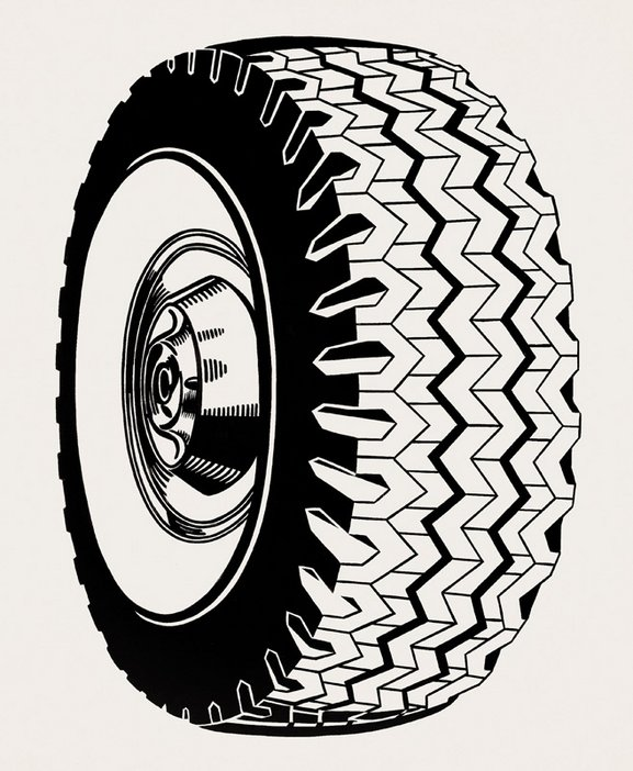 Roy Lichtenstein Tire 1962