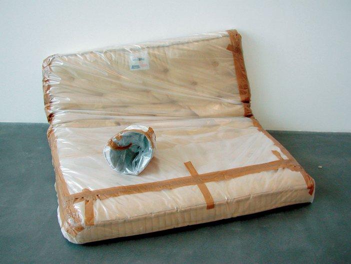 Sarah Lucas Au Naturel wrapped 1994