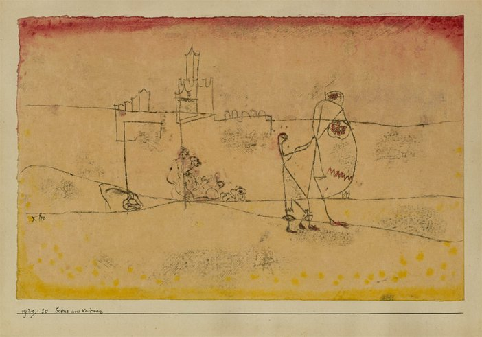 Episode at Kairouan Paul Klee 1920