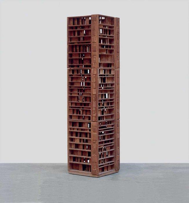 Saloua Raouda Choucair Sculpture with One Thousand Pieces