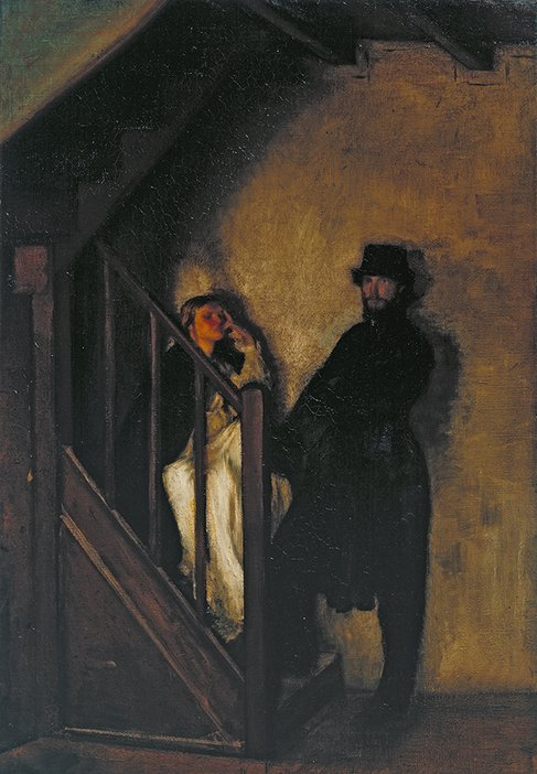 Sir William Rothenstein, The Doll's House 1899-1900