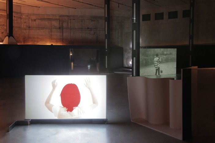 Sung Hwan Kim, Dog Video 2006, From The Commanding Height… 2007, Washing Brain and Corn 2010, Temper Clay 2012