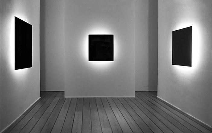 Proposed installation view of Silvio Wolf's Meditations 2009