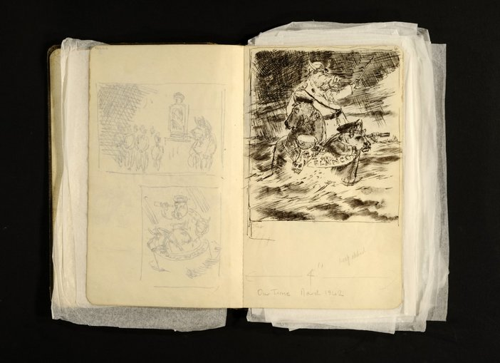 Sketchbook by James Boswell