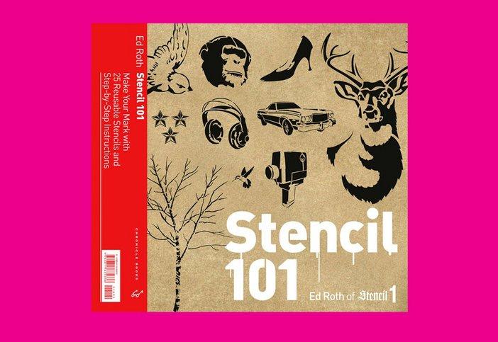 Stencil 101 by Ed Roth, Cass Art, £16.95