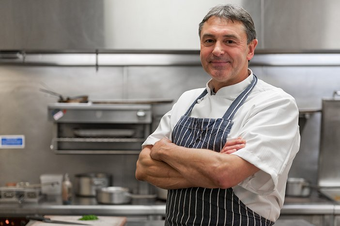Stephen Goodlad, Tate's executive chef