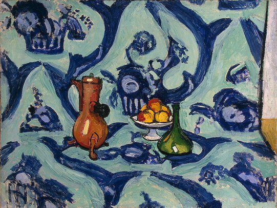 Matisse Still life with Blue Tablecloth 1909