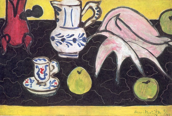 Matisse Still life with a Shell 1940