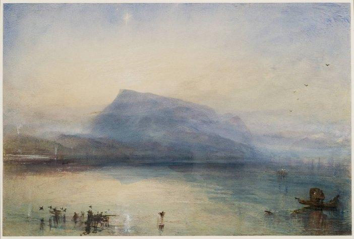 Joseph Mallord William Turner The Blue Rigi, Sunrise 1842