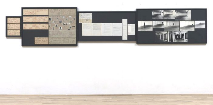Vito Acconci Sonnabend Show Jan 72: Archives. Seedbed 1972