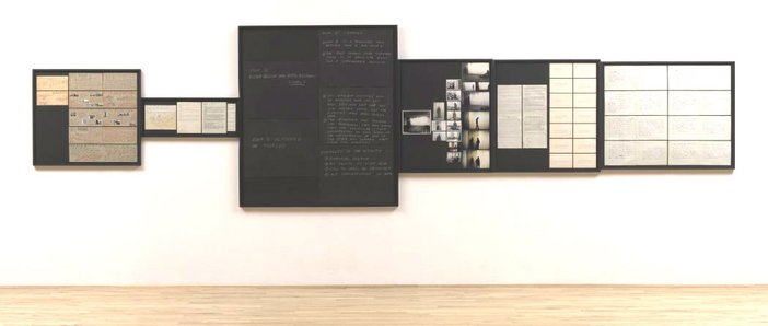 Vito Acconci Sonnabend Show Jan 72: Archives. Supply Room 1972