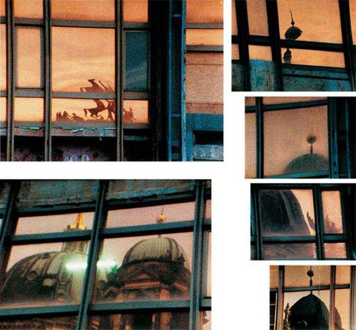Tacita Dean Palast 2004 Film Stills on colour Photogravure