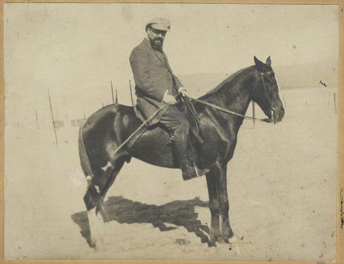 Matisse and animals black horse