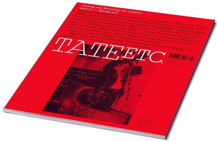 Tate Etc. issue 21 magazine cover