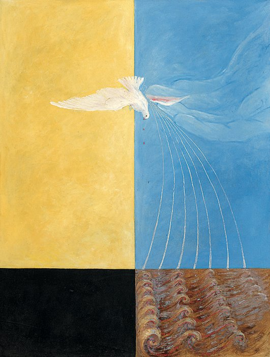 Hilma af Klint, 'The Dove, No. 4' 1915