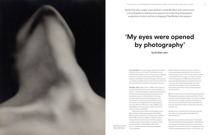 Tate Etc. issue 38 – Sir Elton John on his photography collection