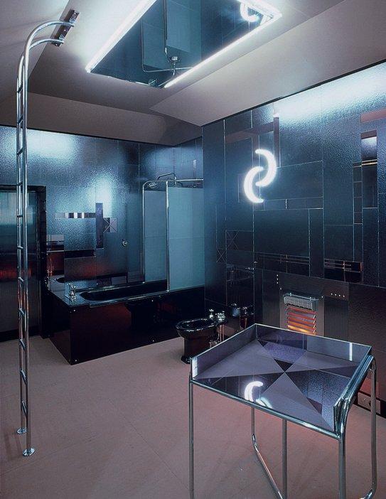 Bathroom designed by Paul Nash for Austrian ballet dancer Tilly Losch in 1932, re-created 1978