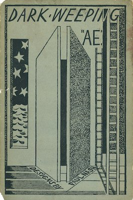 Paul Nash's cover design for Dark Weeping by AE (George Russell), published by Faber and Faber, 1929