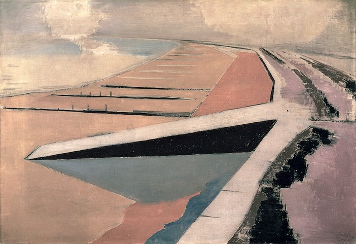 Paul Nash, The Shore, 1923