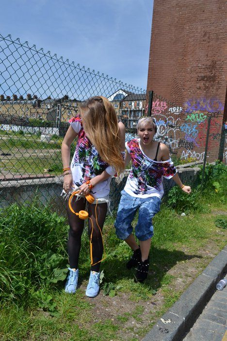 Behind the scenes at our Tate Collective T-shirt shoot