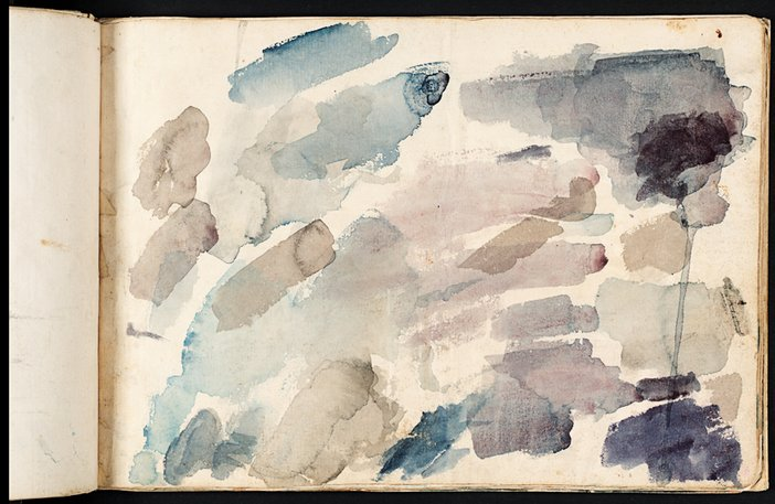 JMW Turner, Colour Trails from the Bristol and Malmesbury Sketchbook 1791
