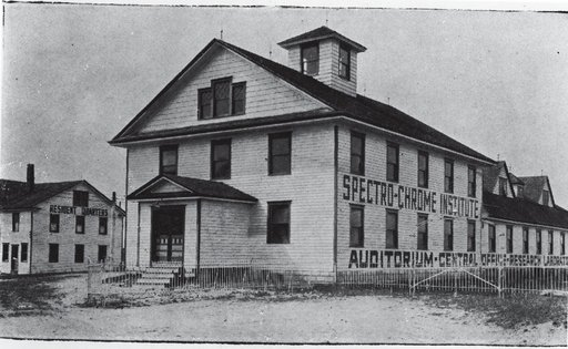 The Spectro Chrome Institute Malage New Jersey 1933.
