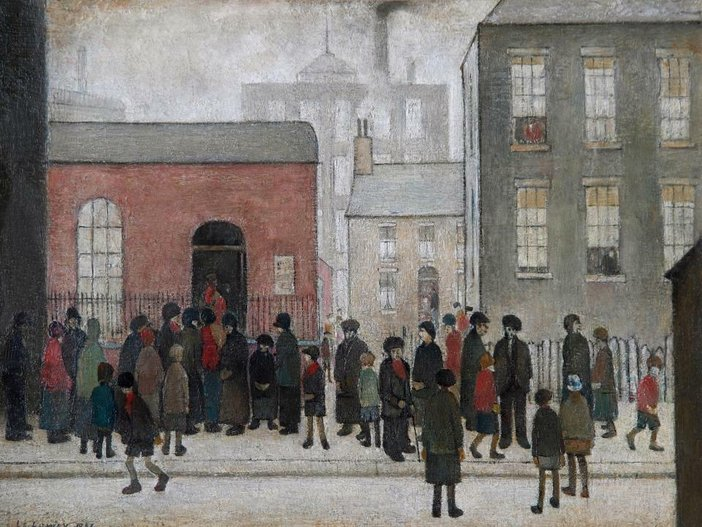 L.S Lowry's The Mission Room, 1937