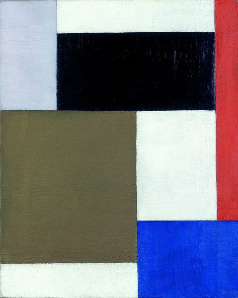 Theo van Doesburg Composition 1924